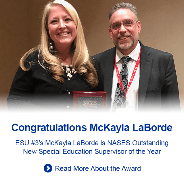 McKayla LaBorde is NASES Outstanding New Special Education Supervisor of the Year