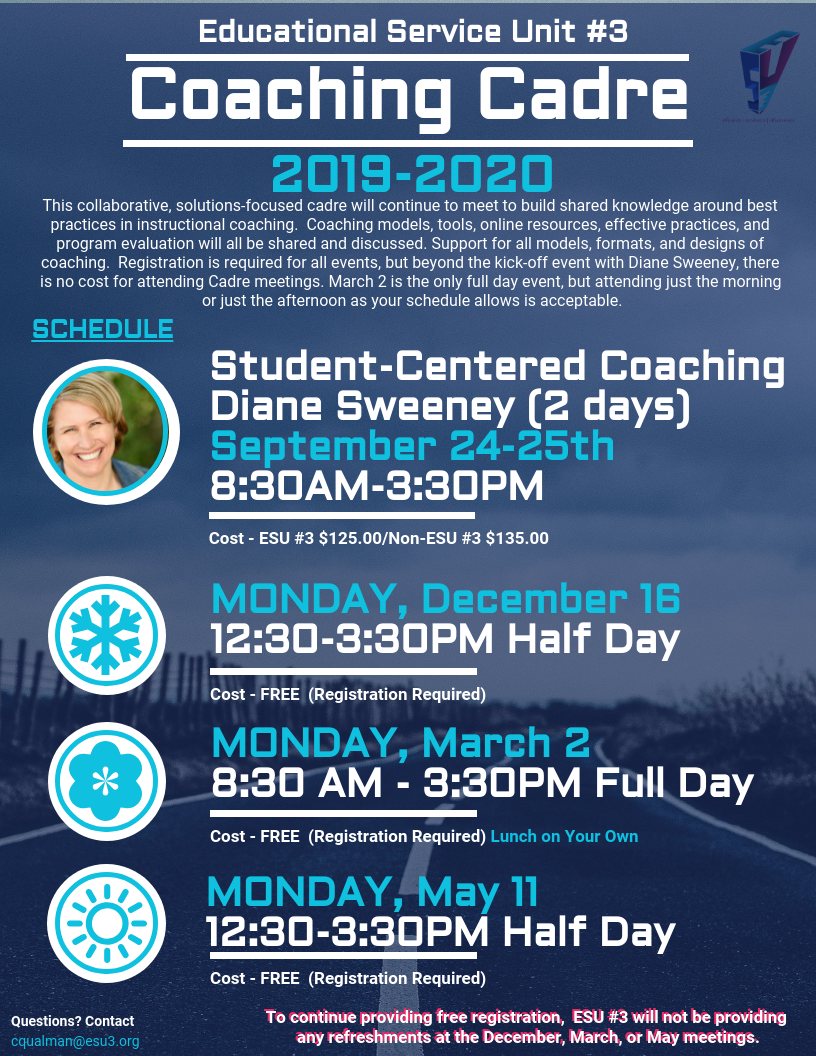 Click here to register for Coaching Cadre 12-16-19 #18318